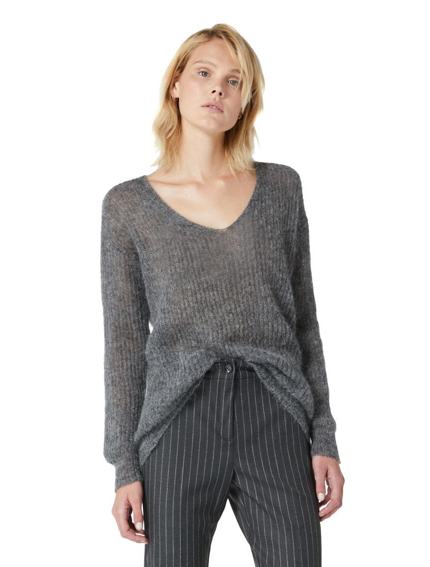 Alpaca and mohair sweater