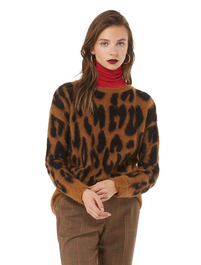 Alpaca and mohair sweater iBlues
