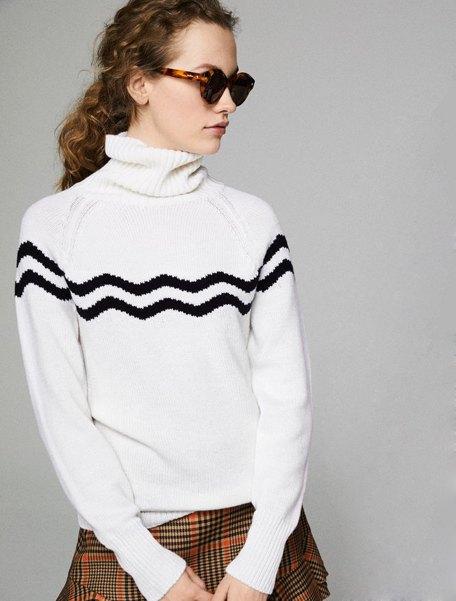 Inlaid turtleneck iBlues