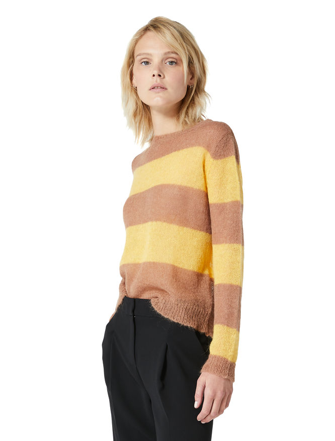Mohair blend sweater iBlues