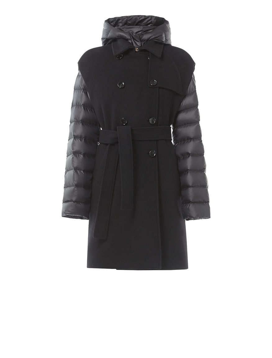 Two-piece down jacket