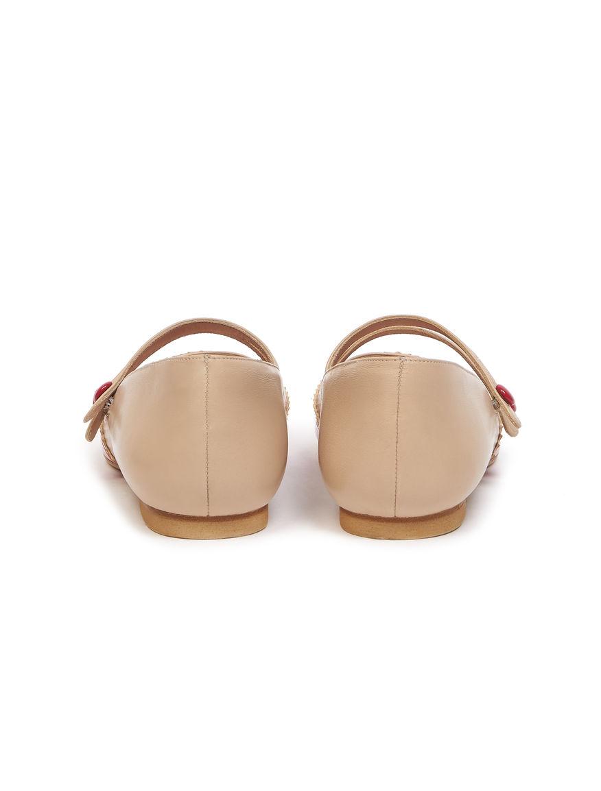 Patent ballerinas
