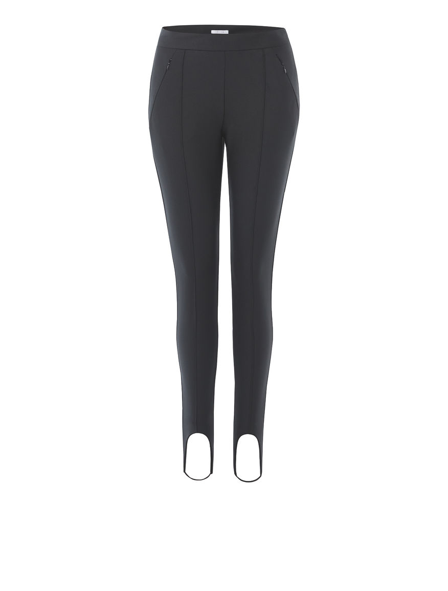 Leggings with stirrups