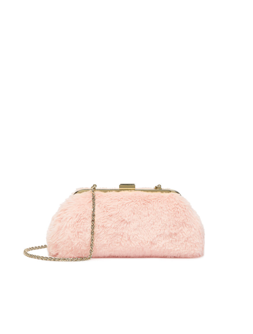 Fur-effect bag
