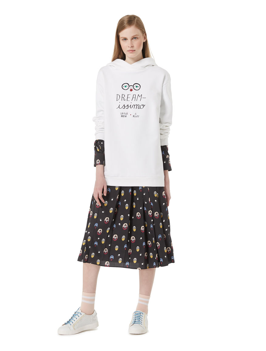 DREAMISSIMO embroidered sweatshirt