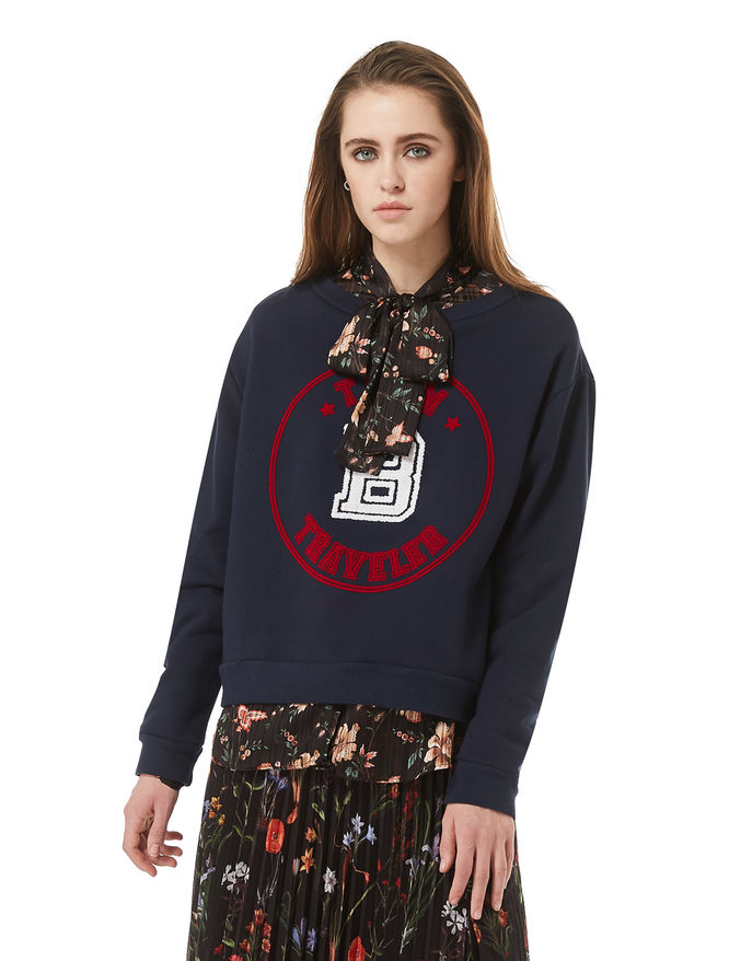 Embroidered sweatshirt iBlues
