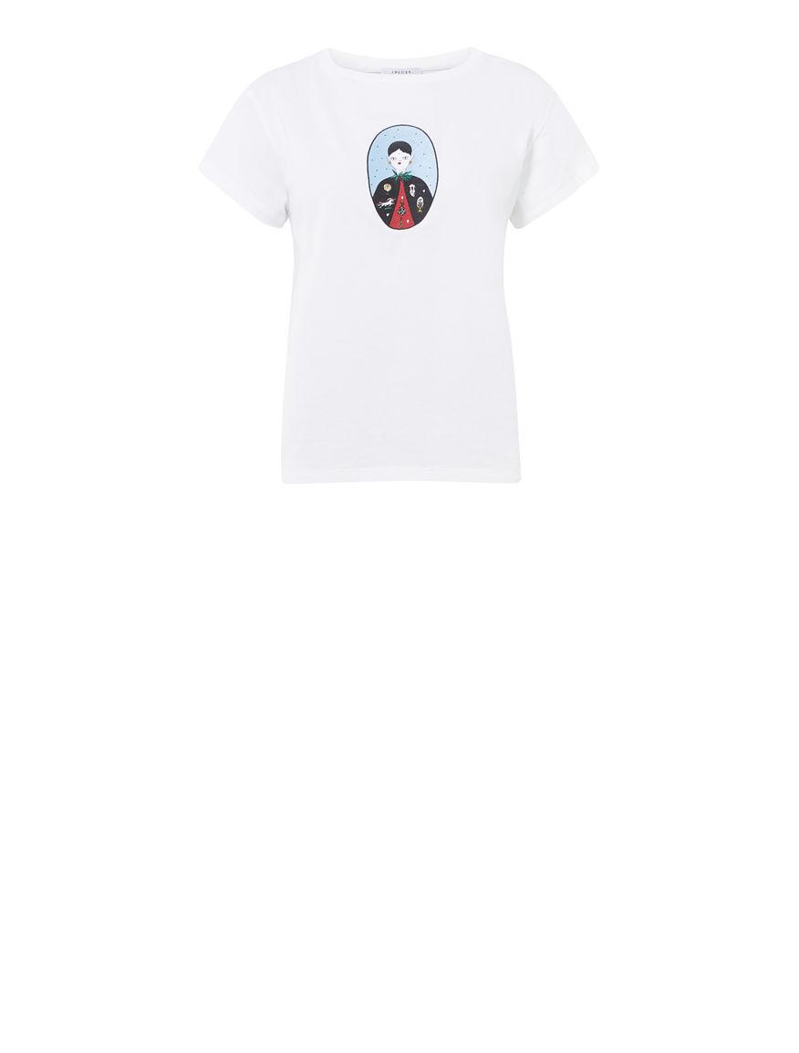 T-shirt ricamata DREAMISSIMO