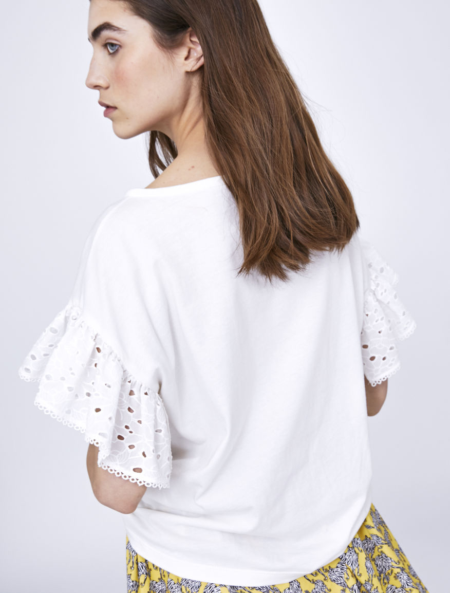 Broderie anglaise T-shirt