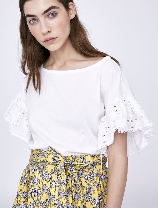Broderie anglaise T-shirt iBlues