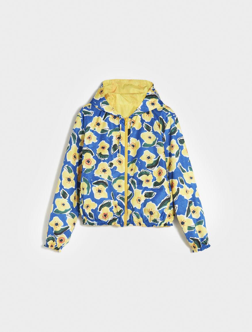Artastic reversible bomber jacket