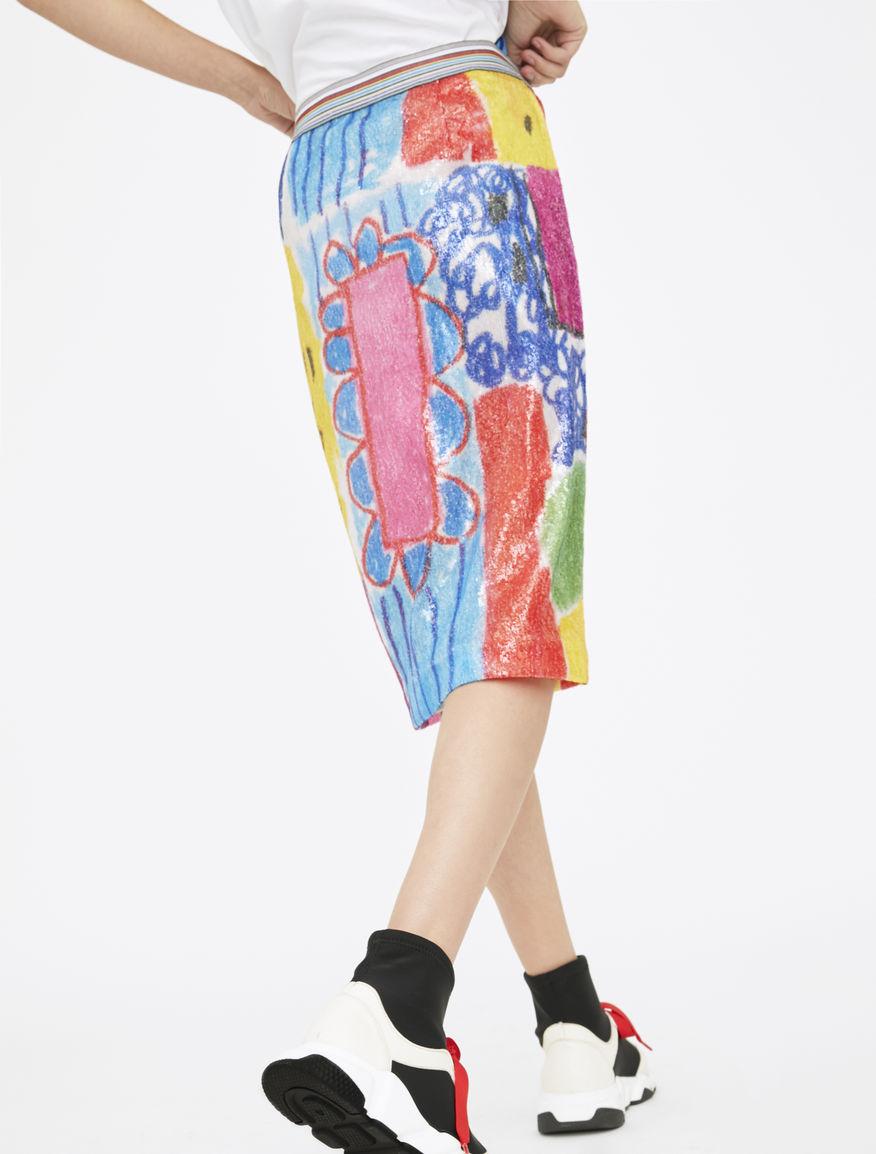 Artastic sequinned skirt