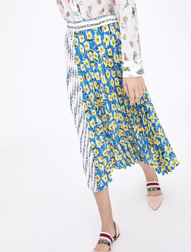 Artastic pleated skirt iBlues