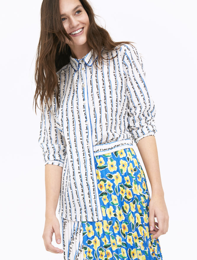 Artastic printed shirt iBlues