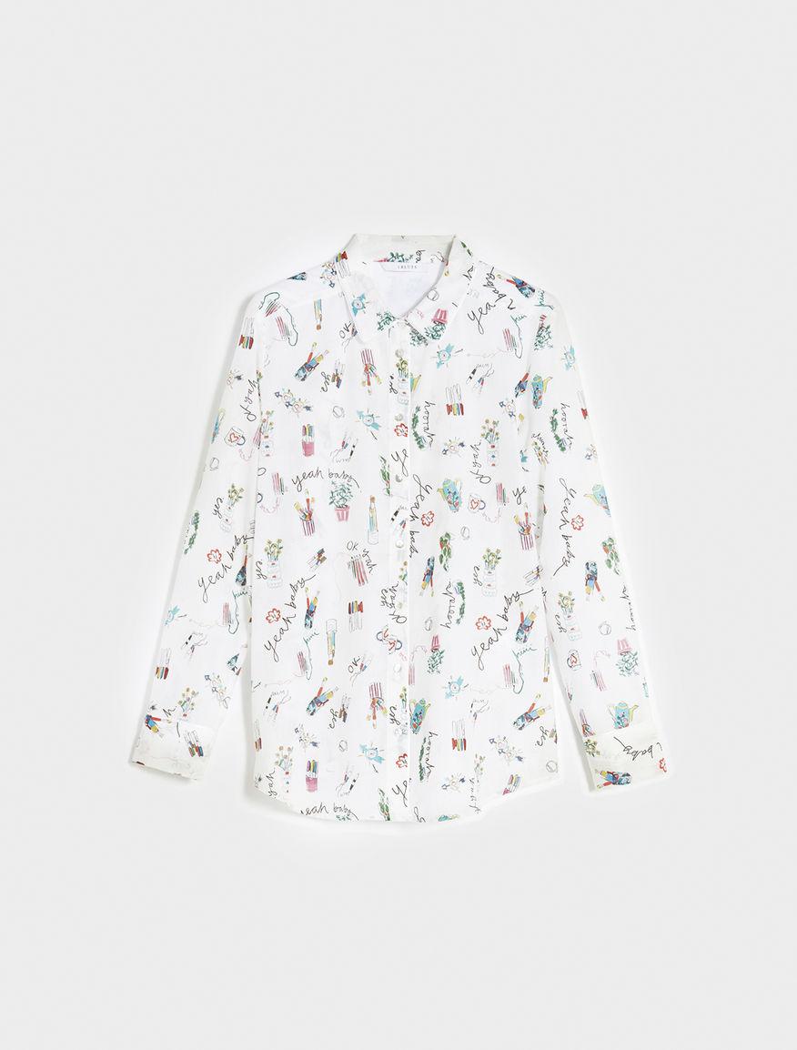 Artastic printed shirt