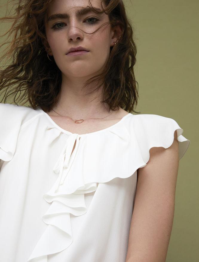 Silk-blend blouse iBlues