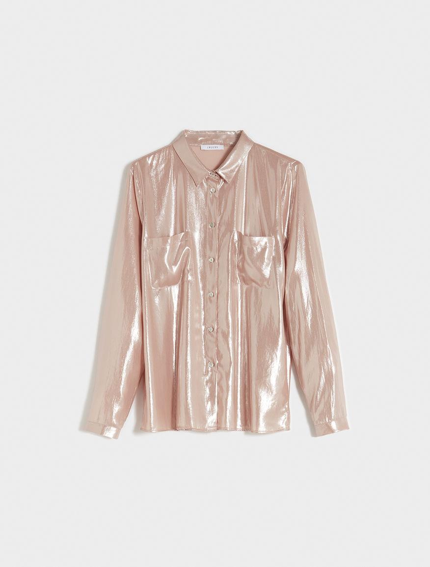 Lamé shirt