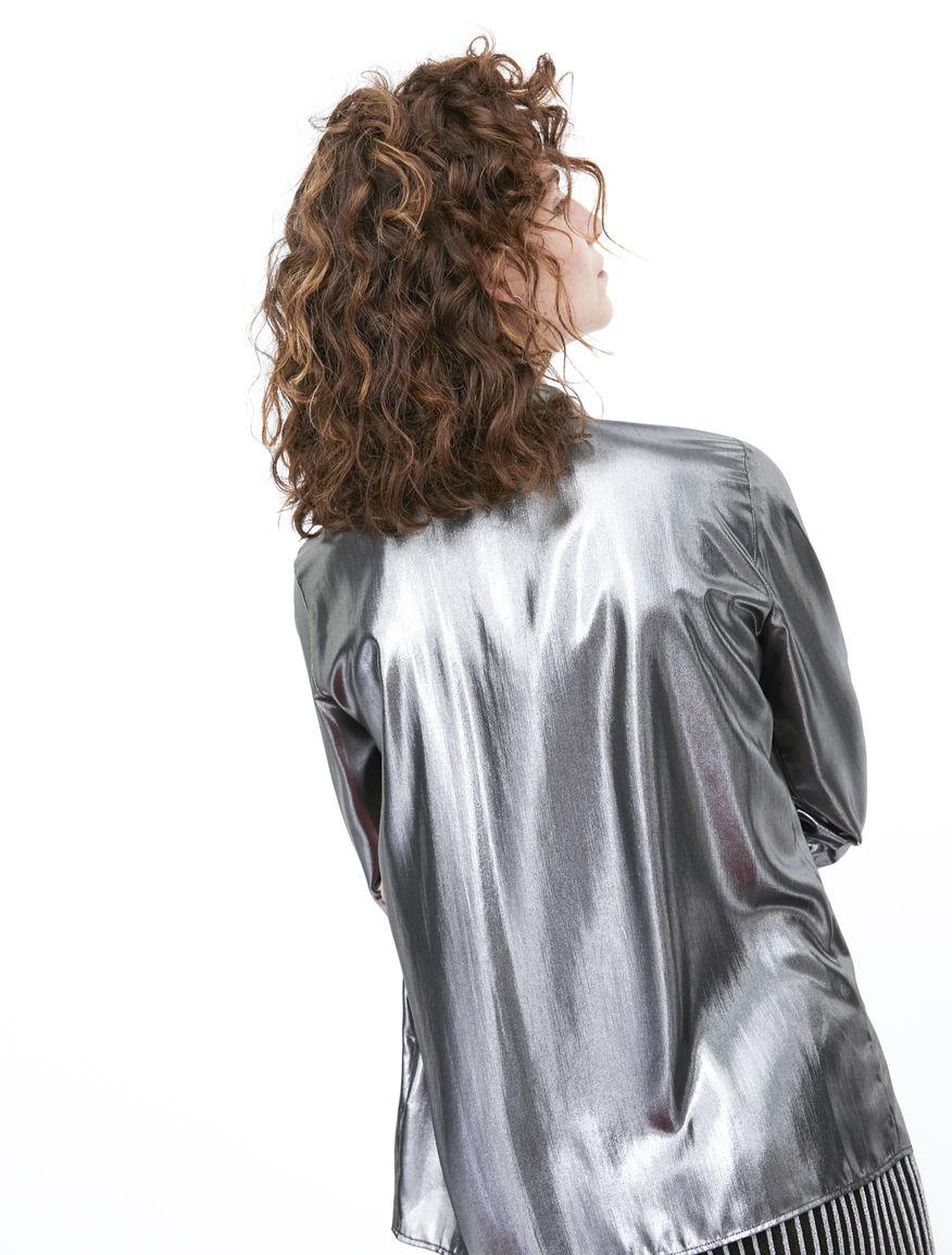 Camicia lamé