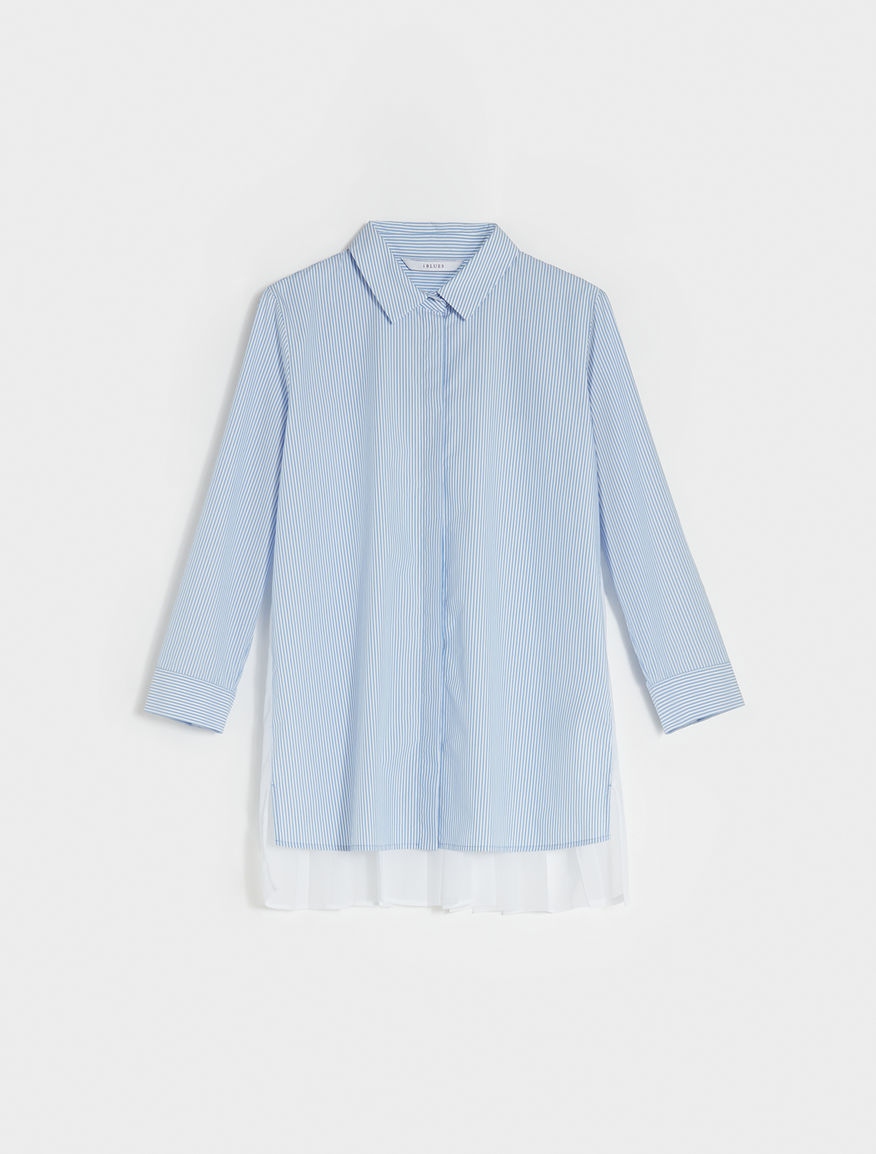 Pleated shirt