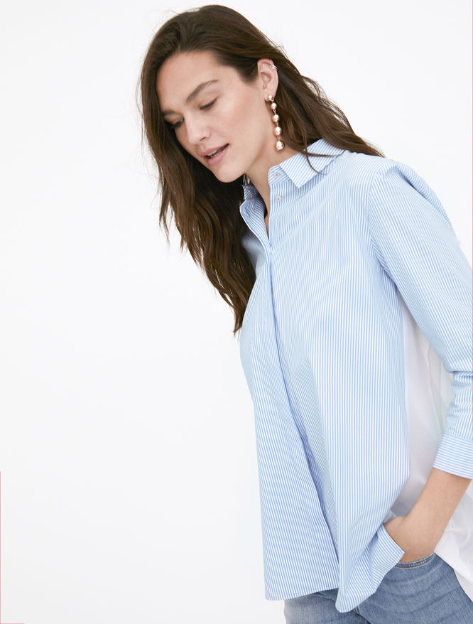Pleated shirt iBlues