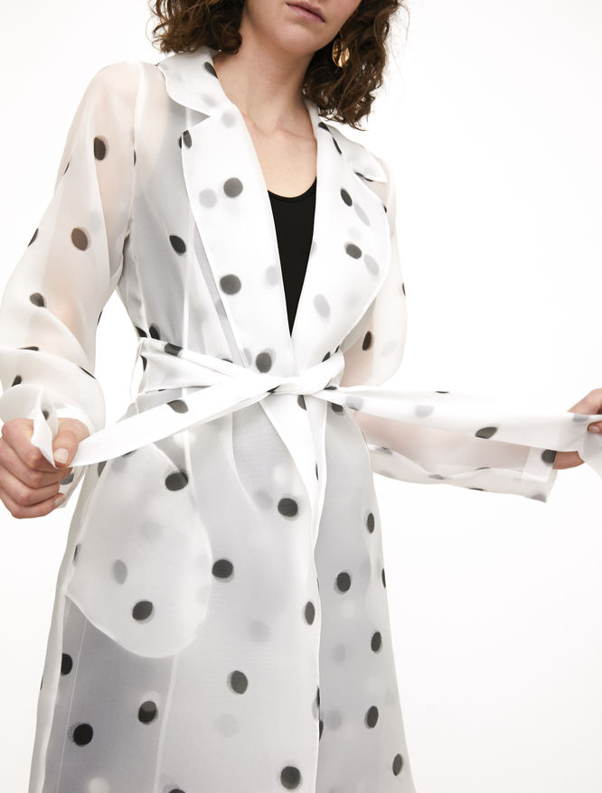 Polka dot duster iBlues