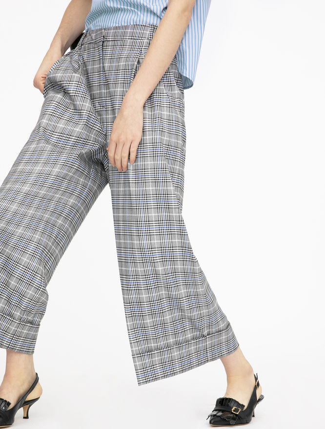 Wide-leg trousers iBlues