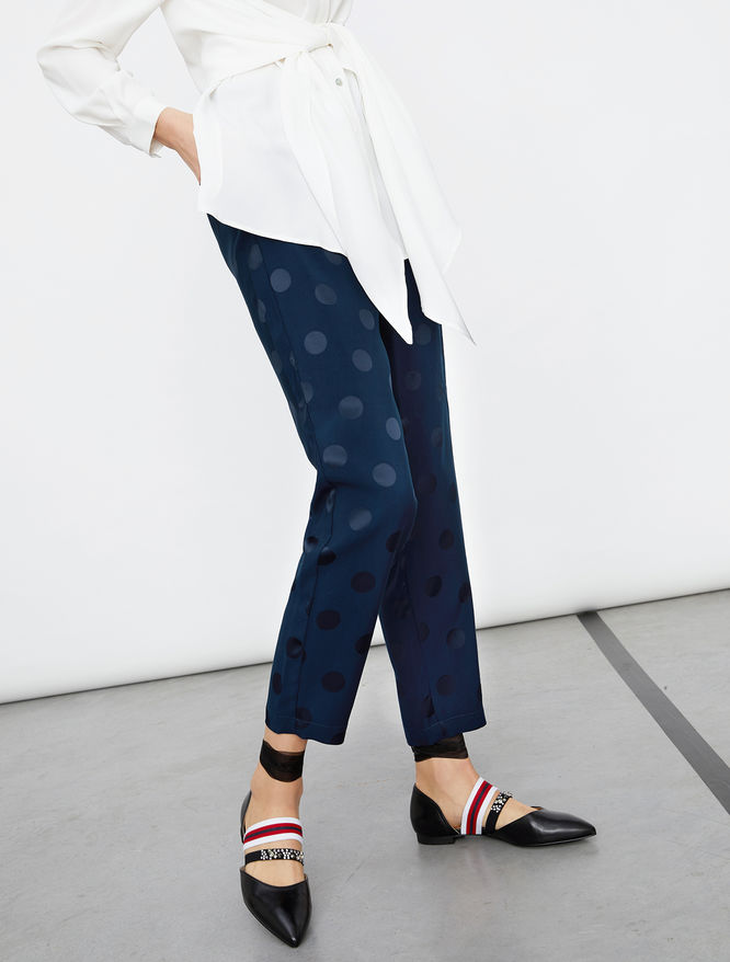 Jacquard trousers iBlues