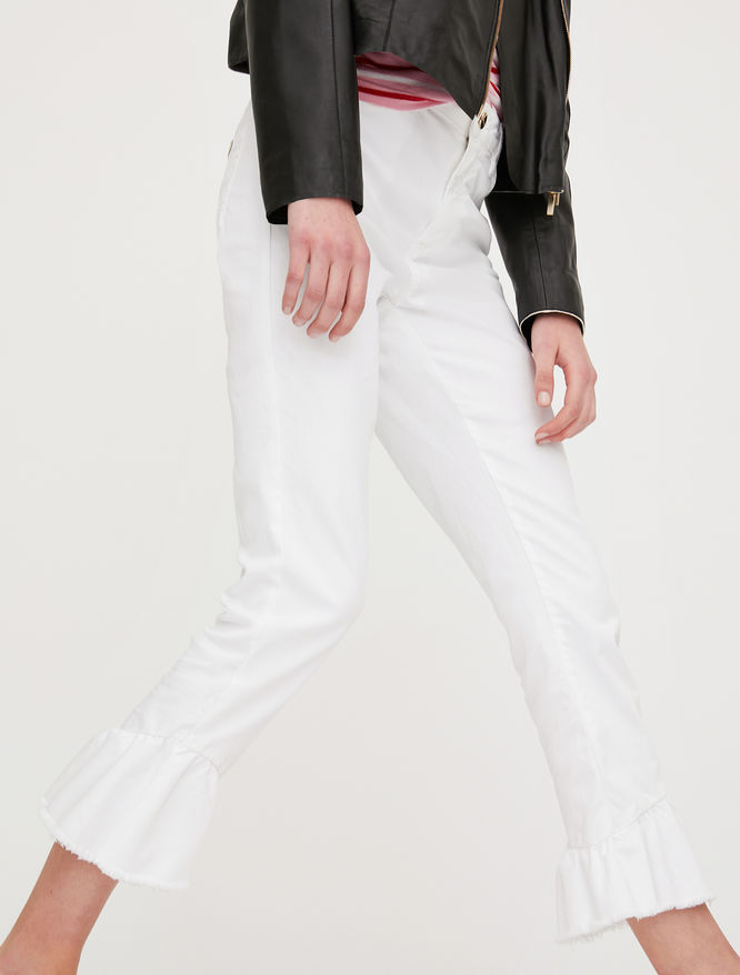 Pantaloni con volant iBlues