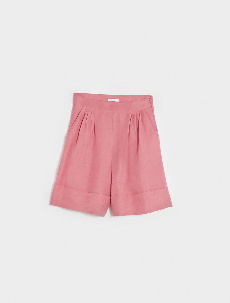 Wide-leg shorts