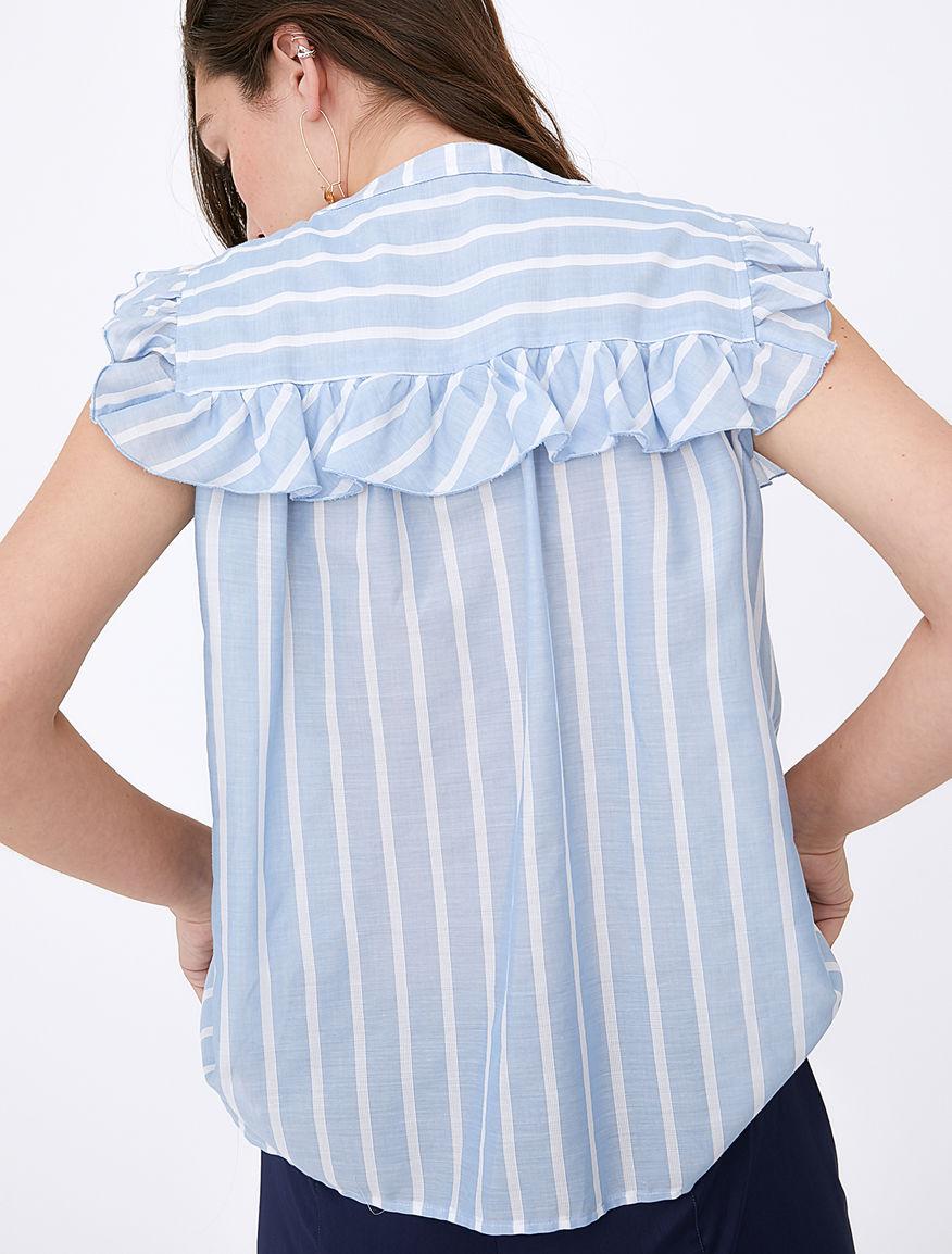 Flounce shirt