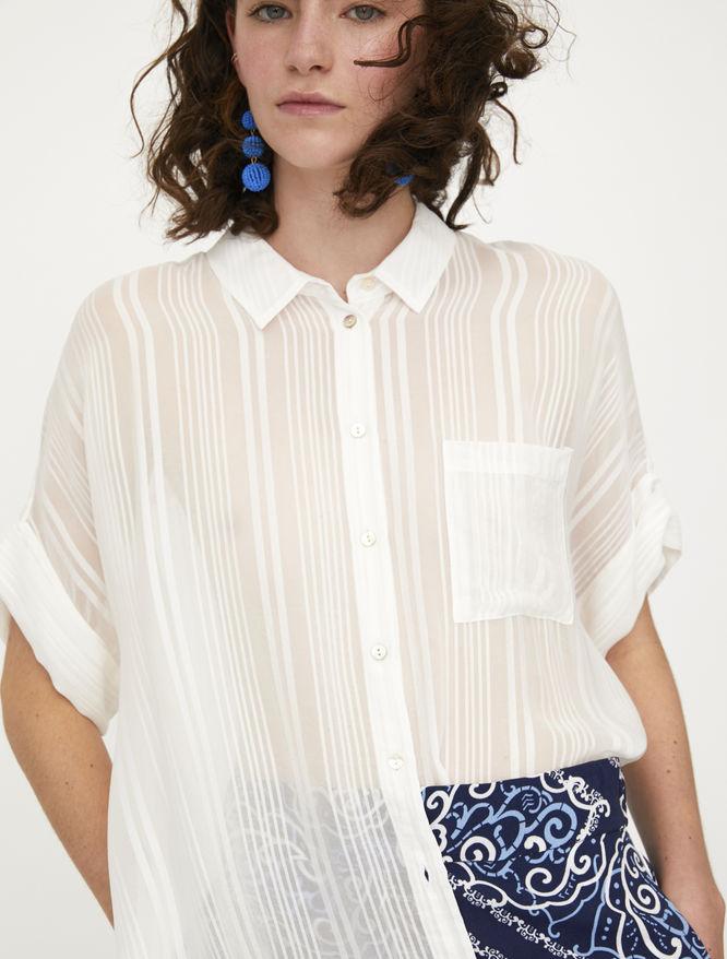 Camicia trasparente iBlues