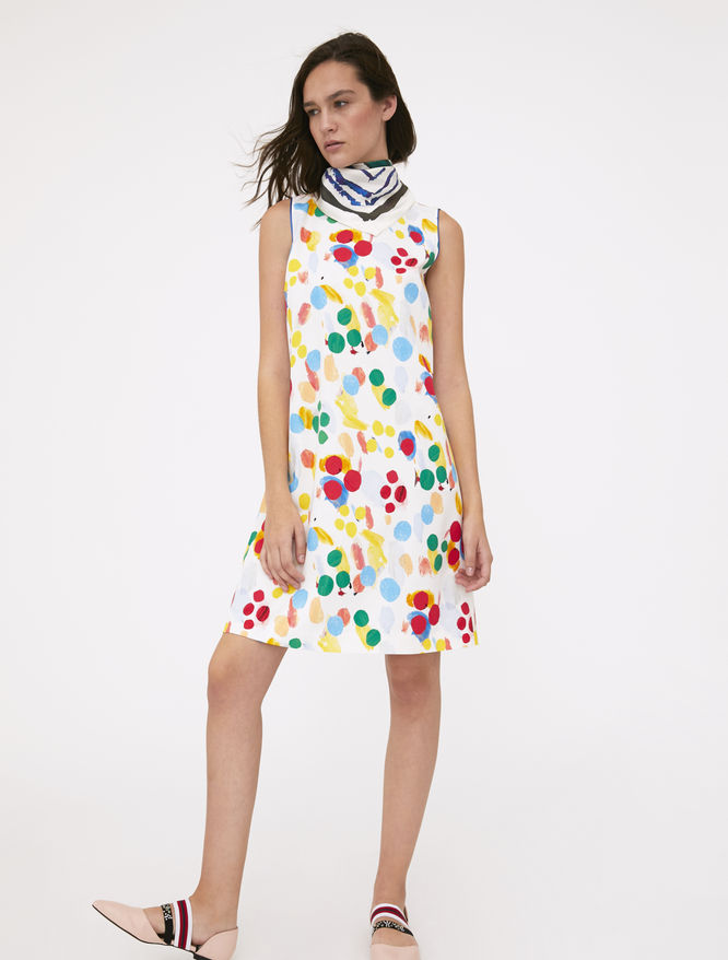 Artastic printed dress iBlues
