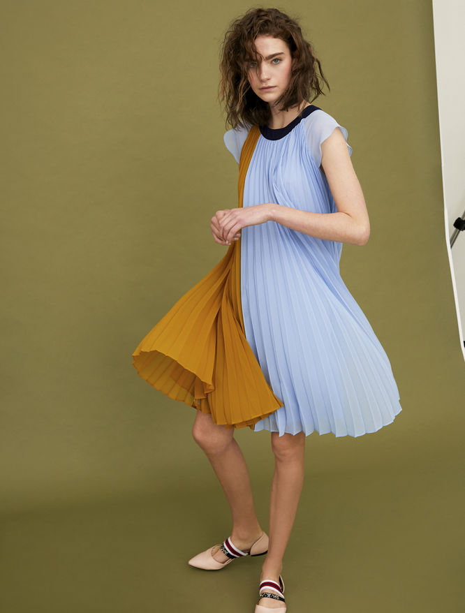 Pleated dress iBlues