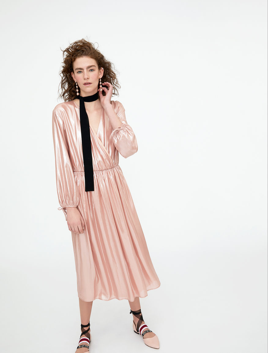 Lamé dress