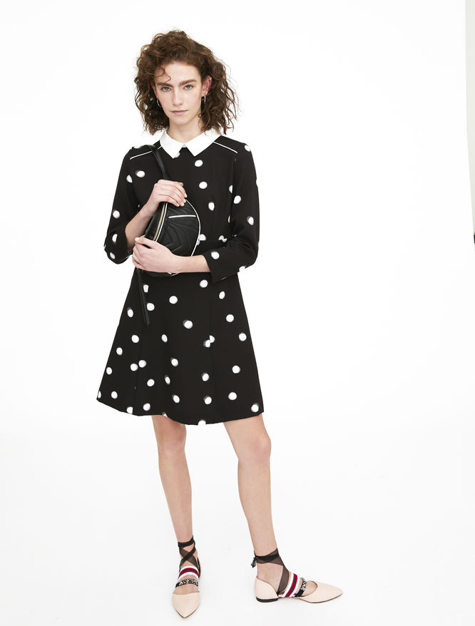 Dotted dress iBlues