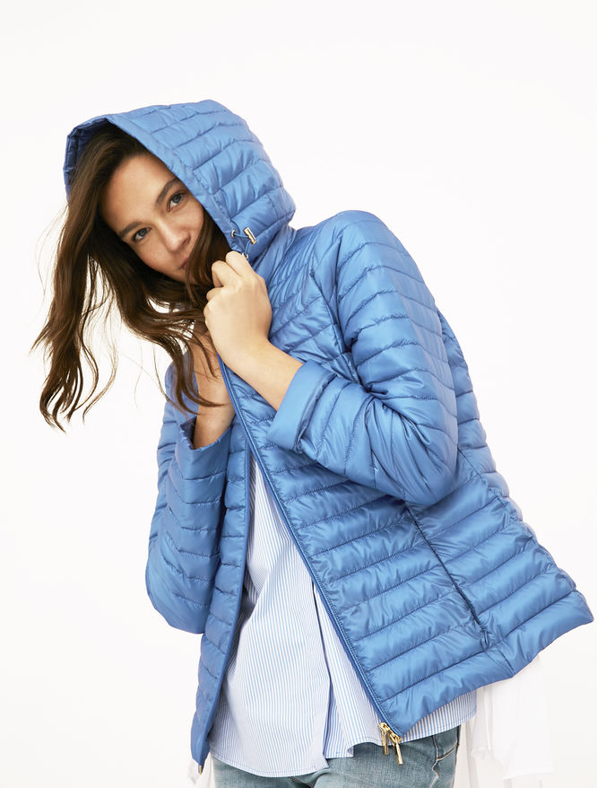 Hooded puffer jacket iBlues