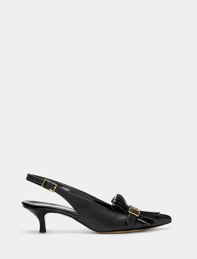 Point-toe slingbacks iBlues