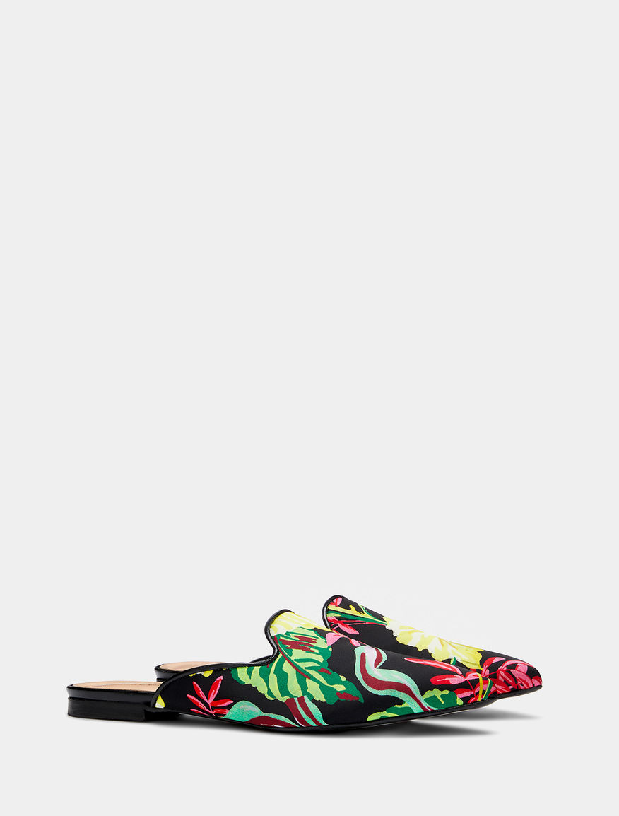 Patterned mules