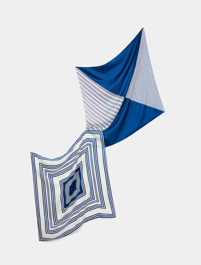 Foulard in seta iBlues
