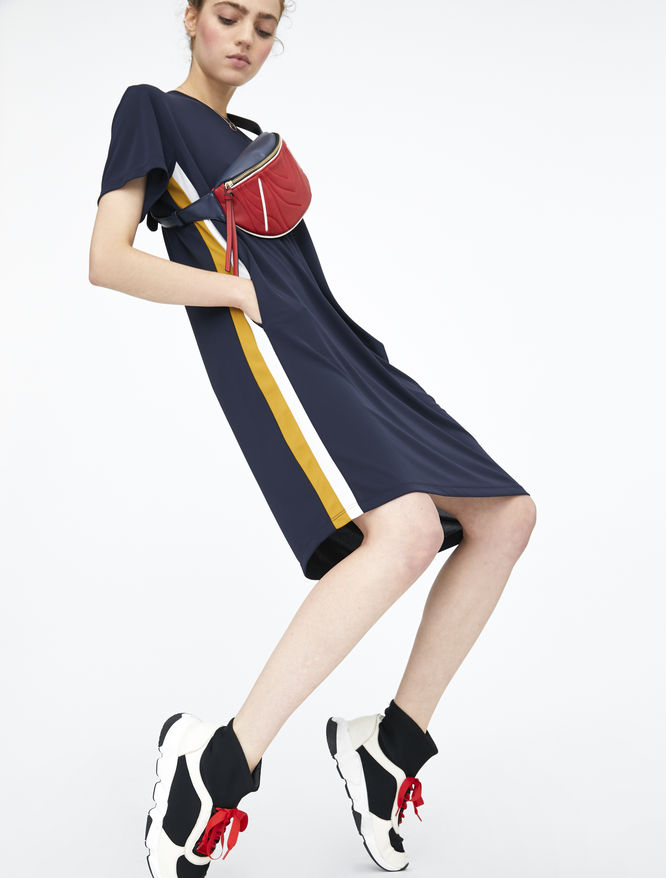 Stripe dress iBlues