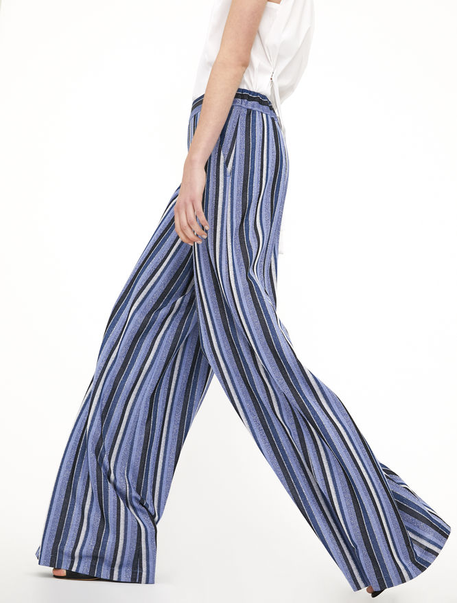 Lurex trousers iBlues