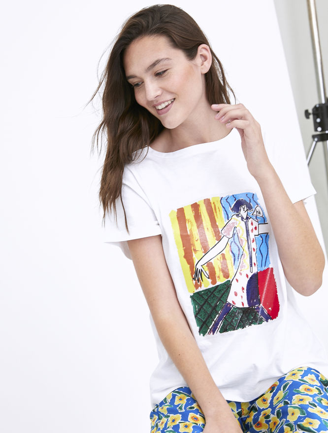 Artastic T-shirt + shopper iBlues