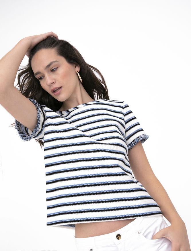 Striped T-shirt iBlues