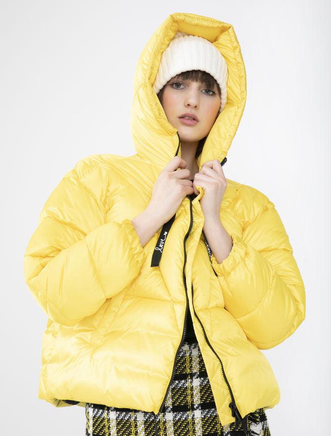 Hooded puffer jacket iBlues