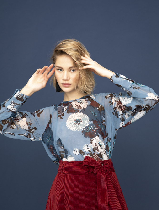 Floral print blouse iBlues