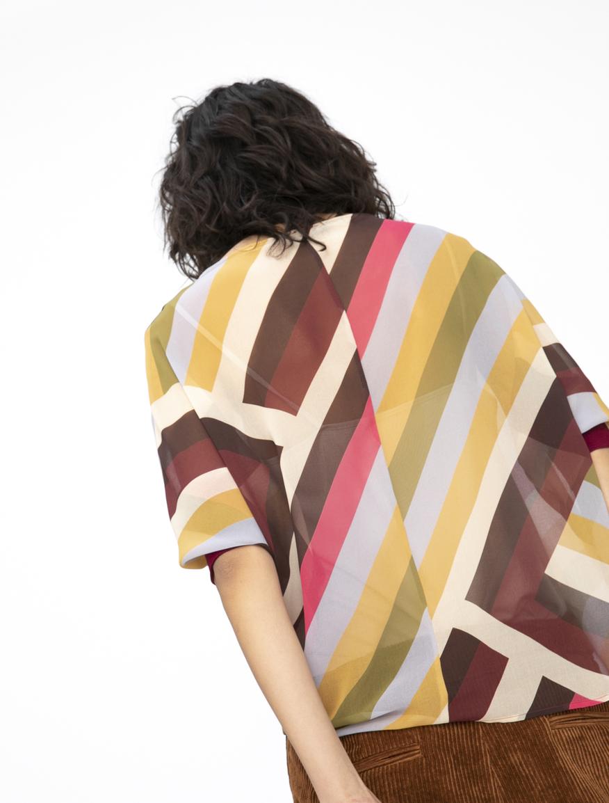 See-through blouse