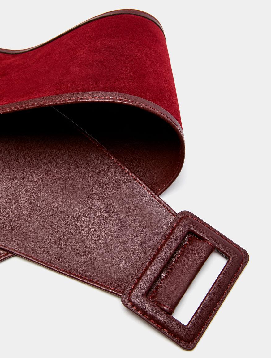 Sash belt.