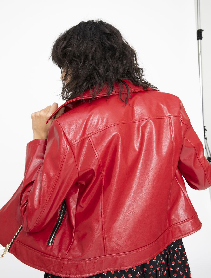 Short biker jacket