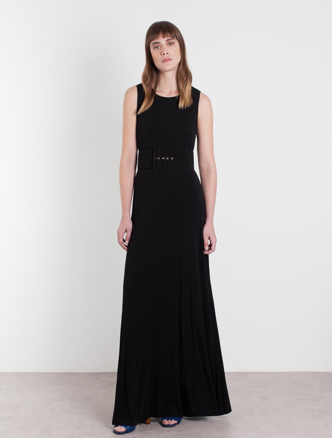 knitwear dress black marella