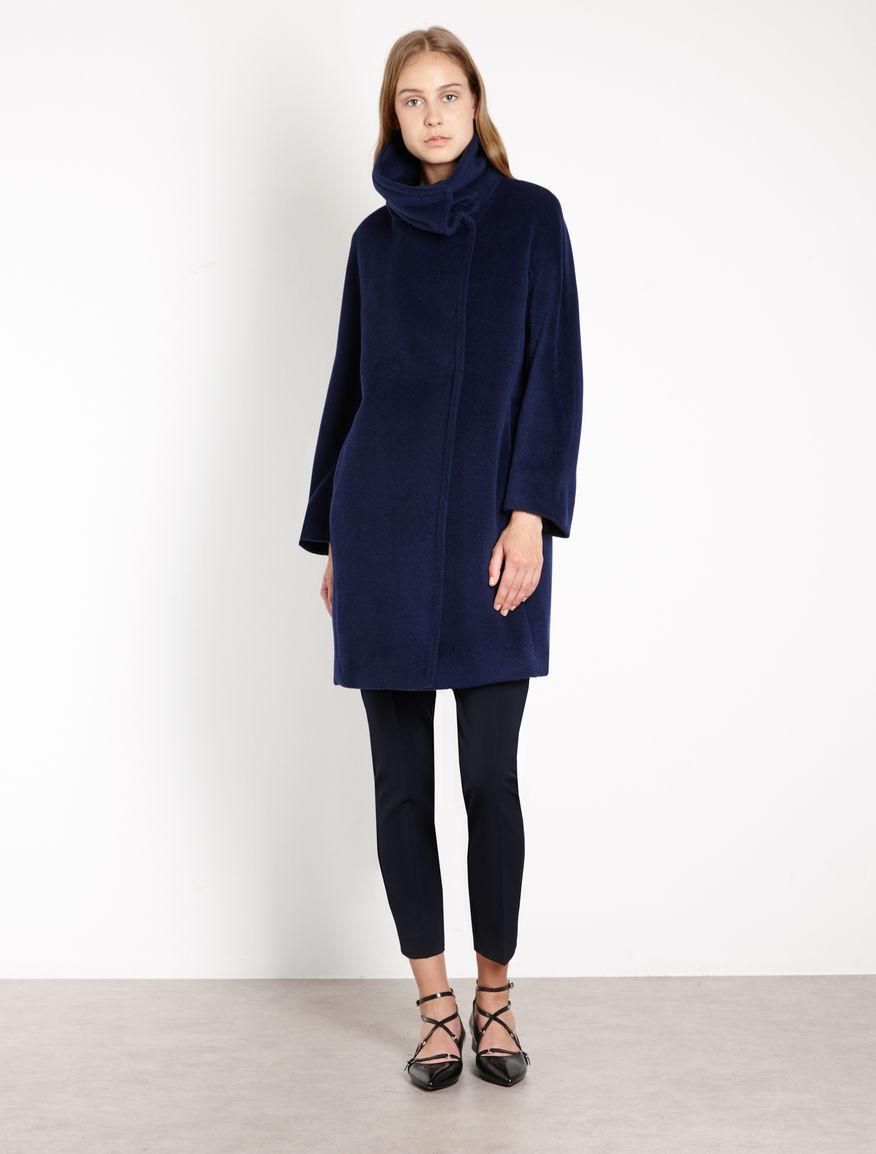 Cashmere blend coat navy - Marella