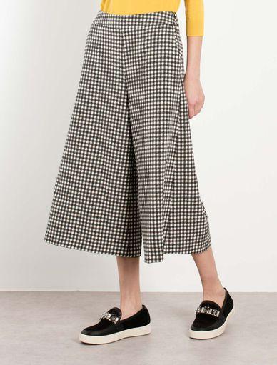 Vichy trouser-skirt Marella